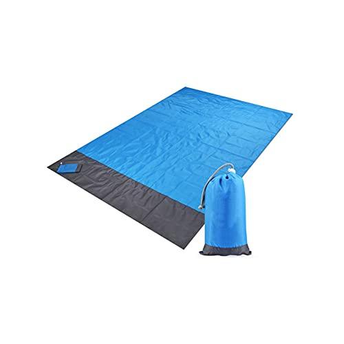 WGLL Manta de bolsillo - COMPACT PICNIC MANTENAMIENTO- Manta de playa a prueba de arena / 100% cubierta de tierra impermeable. Gran manta al aire libre for senderismo, camping, picnics, viajes y viaje