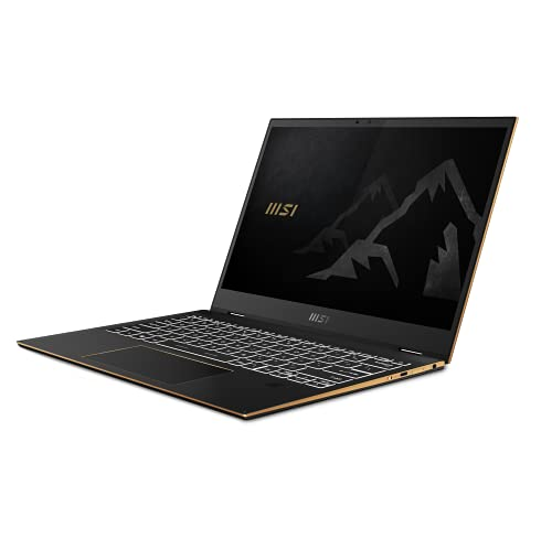 "MSI Summit E13Flip EVO A11MT-003ES - Ordenador portátil de 13.4"" FHD (Tiger Lake i7-1185G7, 32 GB RAM, 1 TB SSD, Iris Xe Graphics, Windows 10 Pro) Color Negro"