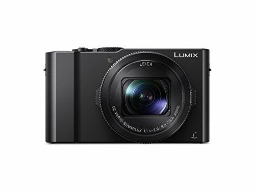 """Panasonic Lumix DMC-LX15 - Cámara Compacta Premium de 20.9 MP (Sensor de 1"""", Objetivo F1.4-F2.8 de 24-72 mm, Zoom de 3X, Pantalla Abatible, 4K, WiFi,Raw), Color Negro"""