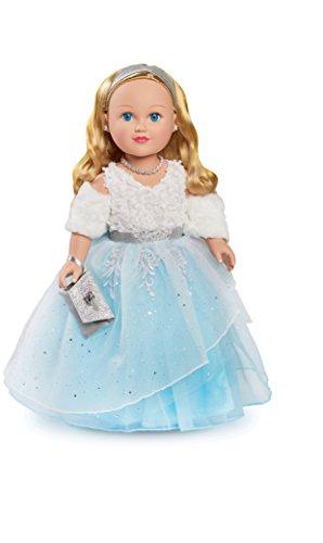 "My Life Holiday Winter Princess, 18"" Blonde Doll"
