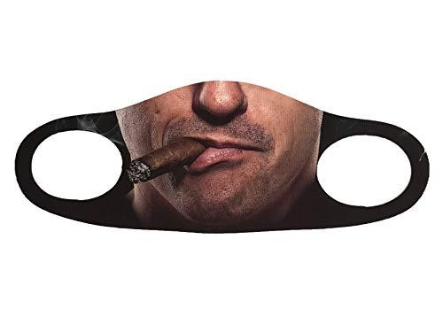 Gök-Türk Maske Mundschutz Anti-Staub Gesichtsmaske (Gesicht mit Zigarre) Sigara