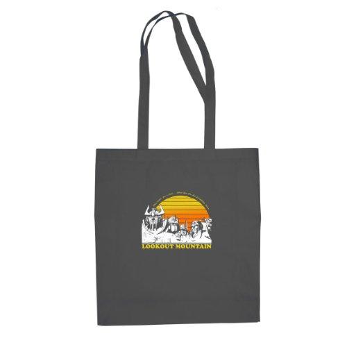 Planet Nerd Lookout Mountain - Stofftasche/Beutel, Farbe: grau