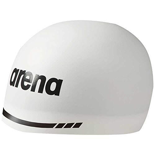 ARENA Unisex Jugend 3D Soft Schwimmhaube, White, XL