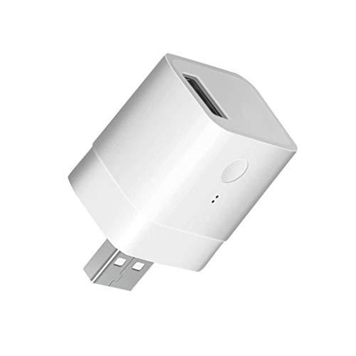rongweiwang Micro USB 5V de Carga inalámbrica Adaptador USB Cargador USB Tableta del teléfono portátil de sincronización USB WiFi Cargador, 2pcs