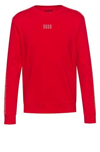 HUGO Herren Sweatshirt Doby203 Rot M