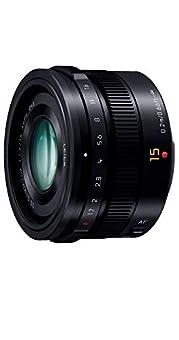 パナソニック 単焦点 広角レンズ マイクロフォーサーズ用 ライカ DG SUMMILUX 15mm/F1.7 ASPH. ブラック H-X015-K