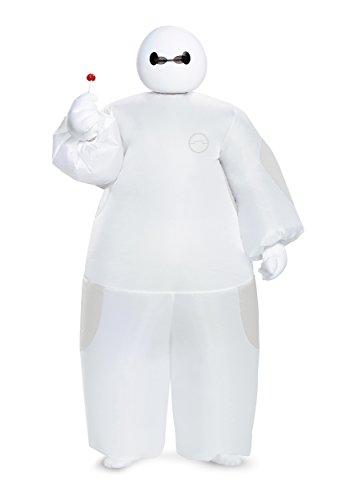 Boys White Big Hero 6 Baymax Inflatable Costume Standard