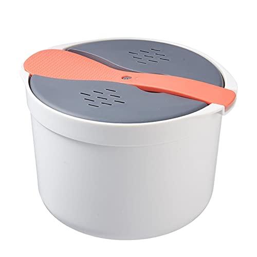 PERFECTHA Micrococina para Microondas Recipiente De Alimentos para Microondas Olla Arrocera Al Vapor para Microondas Herramientas De Cocina Multifunción Utensilios De Cocina Rápidos para Expert