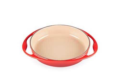Le Creuset Enameled Cast Iron Tatin Dish, 2 qt., Cerise