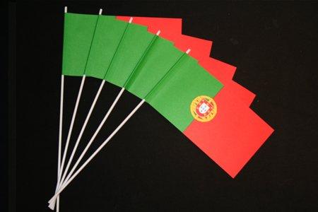 Everflag Papierfähnchen: Portugal 50er Packung