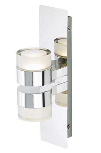 Briloner Leuchten Badezimmerlampe, Spiegelleuchte, LED Badlampe, Badleuchte, Badezimmerleuchte, Badlampe Decke, Badezimmerlampe Decke, Badleuchten Wand, Badlampe Spiegel, Badlampe Wand