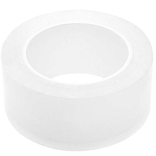 Clear Caulk Strip for Kitchen Sink Bathtub Bathroom Shower Toilet, Transparent PMMA Car Door Guard Tape 2 Inch x 33 Feet