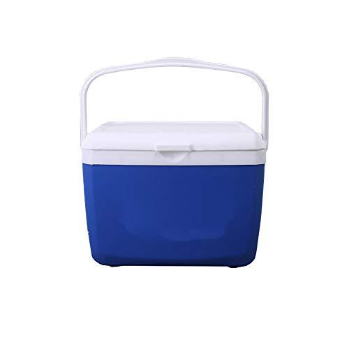 Caja de conservación portátil de 3 litros, contenedor de aislamiento, caja de enfriador de coche, contenedor de calentamiento, no incluye bolsa de hielo, azul