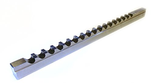 HHIP 2006-1008 1/8 Inch A HSS Keyway Broach with 1 Shim