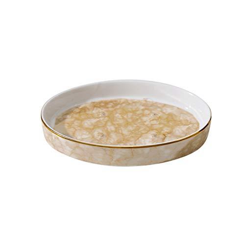 Caja jabón La bandeja de jabón de cerámica es un plato de jabón de alta gama con personalidad creativa en el baño, con múltiples protuberancias en la parte inferior para sujetar el jabón. Bandeja de