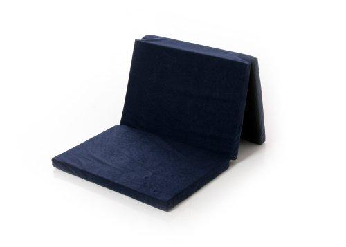Osann Reisebett-Matratze Babybett- 120 x 60 x 4,5 cm – Navy (dunkelblau)