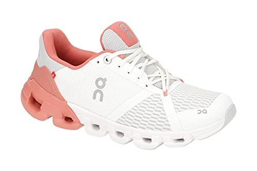 On Running W Cloudflyer Weiß, Damen Laufschuh, Größe EU 38 - Farbe White - Coral