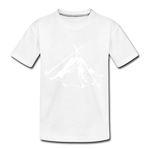 Zelt Biwak Kothe Teenager Premium T-Shirt, 158-164, Weiß