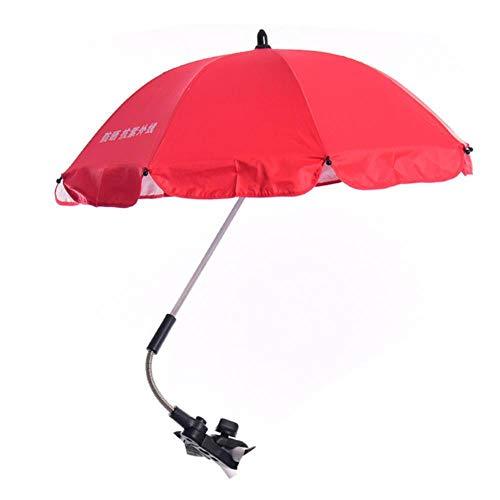 Sun Umbrella Parasol Buggy Poussette Shade Canopy Rain Brolly