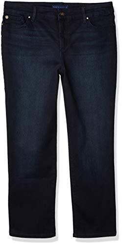 Bandolino Women's Mandie Signature Fit 5 Pocket Jean, nightfall, 8
