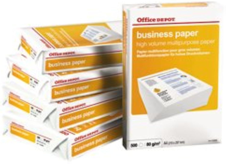 Office Depot – Papier Business A4 80 gr. Packung 500 Blatt B00PCHVFDW    Wunderbar