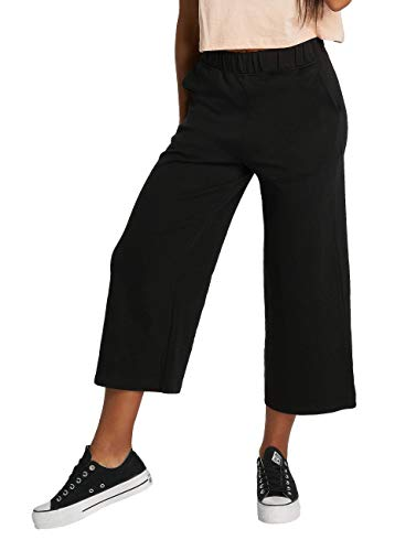 Urban Classics Ladies Culotte Pantalones Deportivos, Negro (Black 00007), 44 (Talla del fabricante: XL) para Mujer