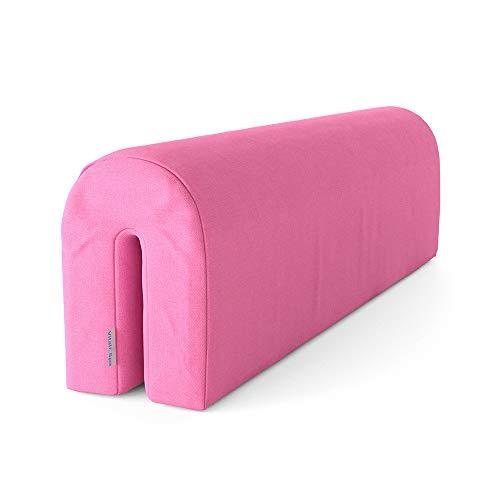 VitaliSpa Bettkantenschutz Bettumrandung Kinderbett Kantenschutz Babybett (Rosa)