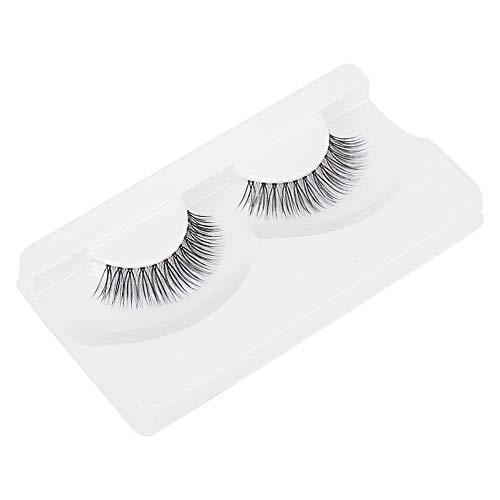 Falsche Wimpern 3D Wimpern Künstliche, 3D Imitierte Wassermähne Wimpern Natürliche Schwarz Lange mit Unsichtbares Band Wiederverwendbar, Erweiterung Makeup Style(BE-316)
