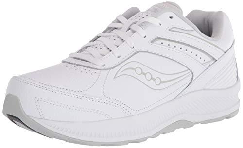 Saucony Zapatos de senderismo Echelon Walker 3 para mujer, blanco (Blanco), 41 EU