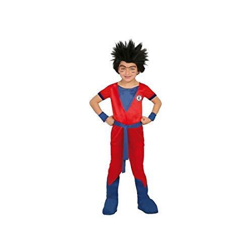 Guirca Costume de Goku pour enfant de 10-12 ans