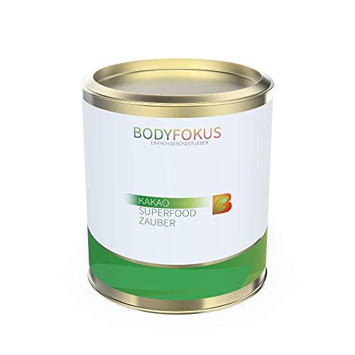 BodyFokus Kakao Superfood Zauber - 74% Kakaoanteil - 12% Polyphenole im Kakaobohnenextrakt