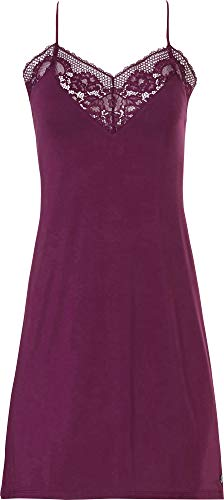 Pastunette Nachtkleding Nachtjapon Diep Rood Paars Racer Terug Strappy Chemise