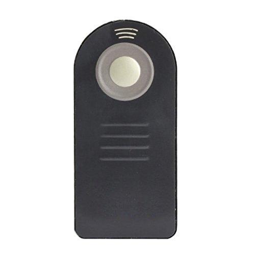 SODIAL Negro Mando a Distancia IR Control Remoto Inalambrico ML-L3 para Nikon D7000 D5100 D5000 D3000