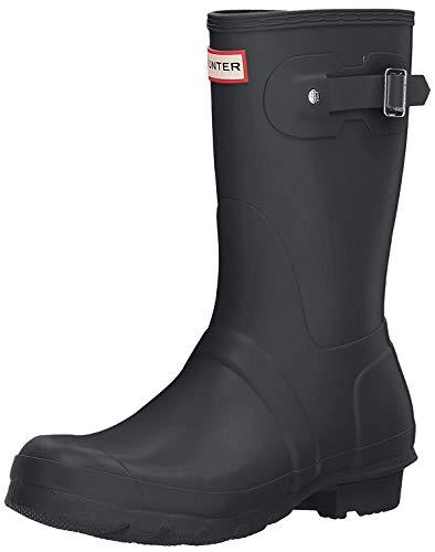 HUNTER Damen Wellington Boots Gummistiefel, Grau (Grey/DSL), 40/41 EU