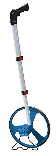 BOSCH 0601074000 - Topómetro GWM 32 Professional. Telescópico con empuñadura curva. Diámetro rueda: 32 cm. Contador de 5 dígitos. Caballete lateral. Peso: 1,4 kg con Funda de protección.