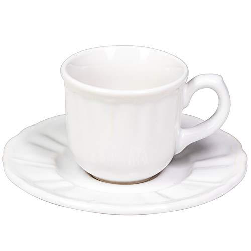 Casa Collection Cafetière en grès, Blanc