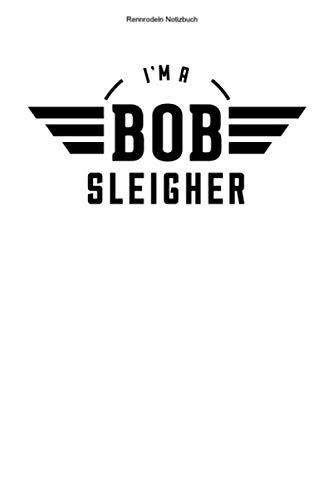 Rennrodeln Notizbuch: 100 Seiten | Punkteraster | Rennrodel Team Sportler Bob Bobsportler Schlitten Viererbob Geschenk Rennrodler Wintersport Sport Rennen Athlet Hobby Bobs