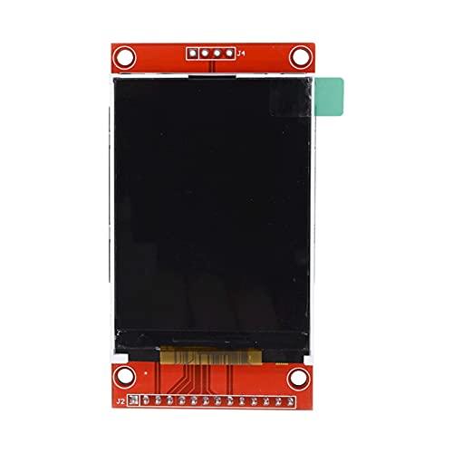 "ZRYYD 2.4""2,4 Zoll 240x320 SPI TFT LCD-serielles Port-Modul 5V / 3.3V PCB-Adapter Micro SD-Karte ILI9341 LCD-Anzeige weiße LED für Arduino"