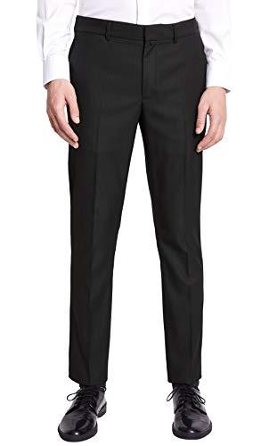 Celio Noamaury Pantalones, Negro (Noir Noir), 40W/34L (Talla del Fabricante:50) para Hombre