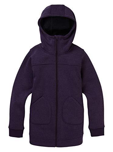 Burton Mädchen Minxy Fleece Pullover, Purple Velvet Heather, XL