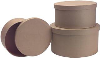 DCC Crafts Paper Mache 3-Box Set: Round