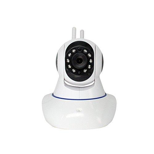 Cámara de vigilancia IP, cámara de vigilancia inalámbrica, 720p cámara de seguridad de espionaje HD, ip cam wifi anillo alerta / monitor de mascotas