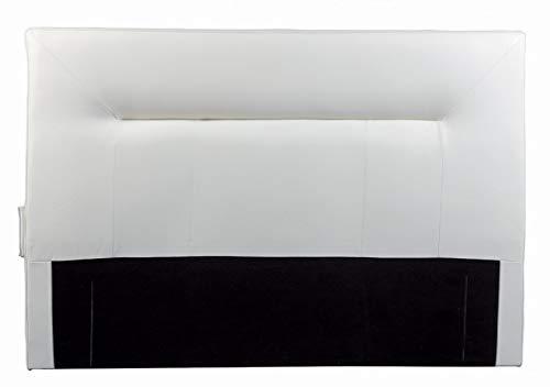 Destock Meubles - Testiera per letto 160, colore: Bianco