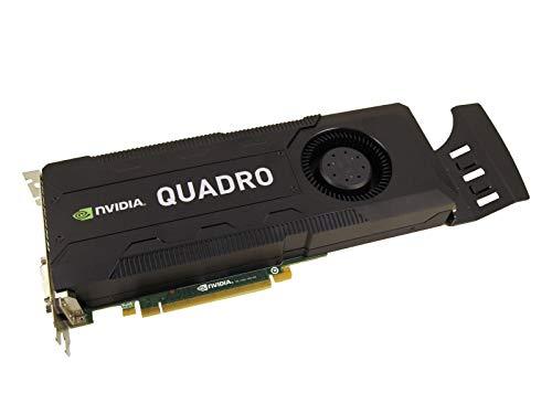 nVidia Quadro K5000 4Gb GDDR5 PCI-E Doppio Displayport 2X Dvi Scheda Grafica 0Cftkf (rinnovato)