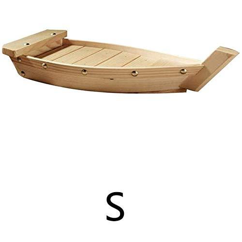 Dongbin Boot Sushi Tablett in Holzplatte durch für Restaurant Holz, große,L