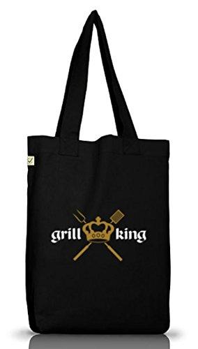 Shirtstreet24, GRILL KING, Grillen...