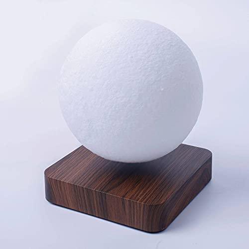 N\C Luces de la luna de la impresión 3D, muebles del hogar, luces de la noche del LED, luces magnéticas de la luna de la levitación