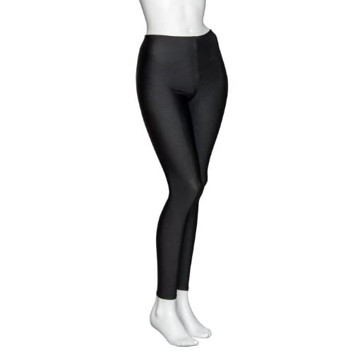 e3d6c28896be Girls Ladies Shiny Lycra Shiny Dance Gym Ankle Tights Leggings By Katz  KDT002