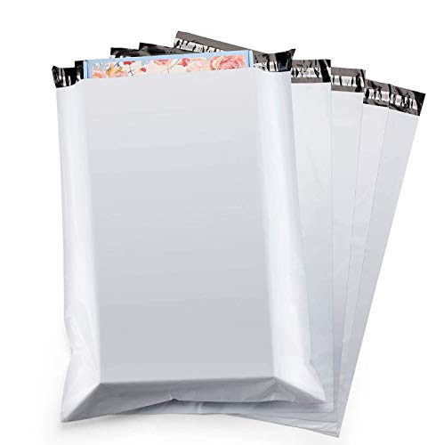 Switory 100pc 48.3cmx61cm Grandes Bolsas para Envíos, Anuncios de correo de polietileno blanco, sobres de envío Sobres de correo Bolsas para embalaje