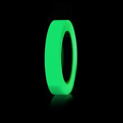 JZK Cinta fluorescente impermeable verde 10m x 2cm